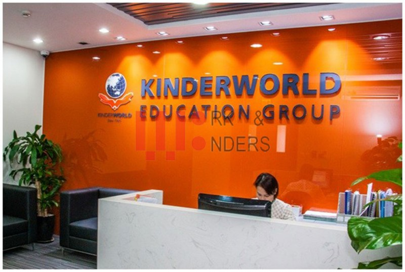 Thiết kế nội thất KinderWorld Education Group